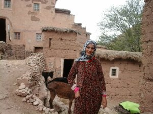 Aisha Anahw from Ait Bouguemez, Morocco