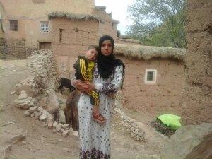 Naima Hazmad  from Ait Bouguemez, Morocco