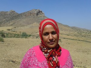 Naima azroial from Souq El Hed, Morocco