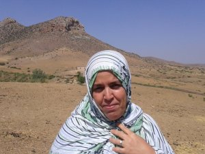 Fadma Mehboub from Souq El Hed, Morocco