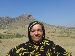 Fatima Hafsi from Souq El Hed, Morocco