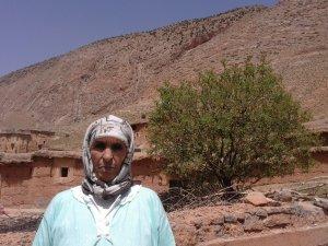 Fatima Bouhkiy from Ait Bouguemez, Morocco