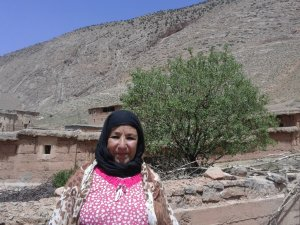 Aaicha Aziyni from Ait Bouguemez, Morocco