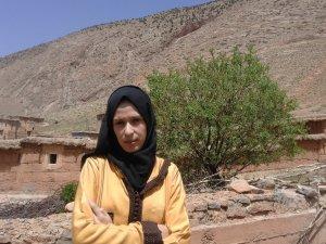 Nadiy Jamali from Ait Bouguemez, Morocco