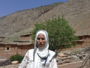 Malika Ousou from Ait Bouguemez, Morocco