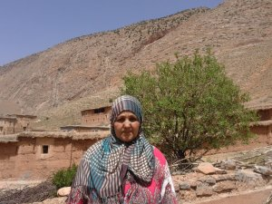 Fatima Aadi from Ait Bouguemez, Morocco