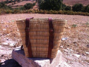 White Keystone Basket