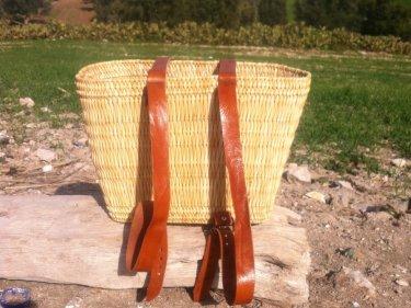 Orange, White Keystone Basket