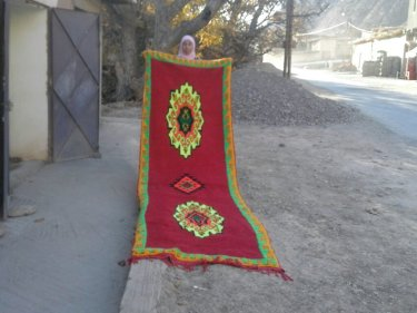 Red, Yellow Azilal Rug