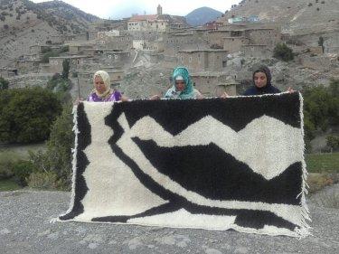 Black, White  Beni-Ourain