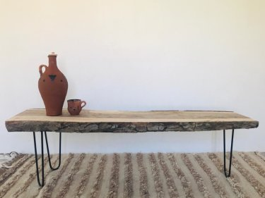 Brown, Black Walnut Wood Wood Table