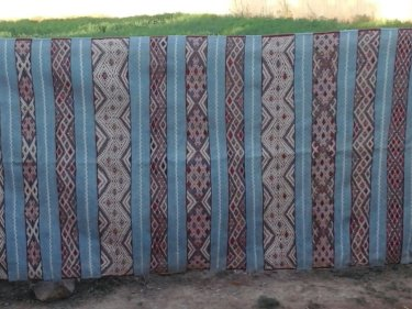 Colored Hanbel Rug
