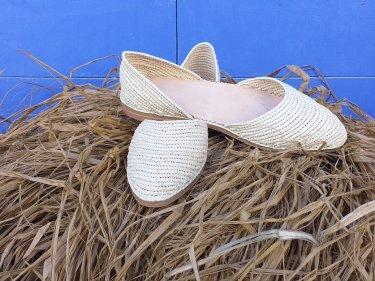 White Boho Shoes