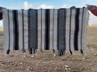 Black, White Kantorian Carpet