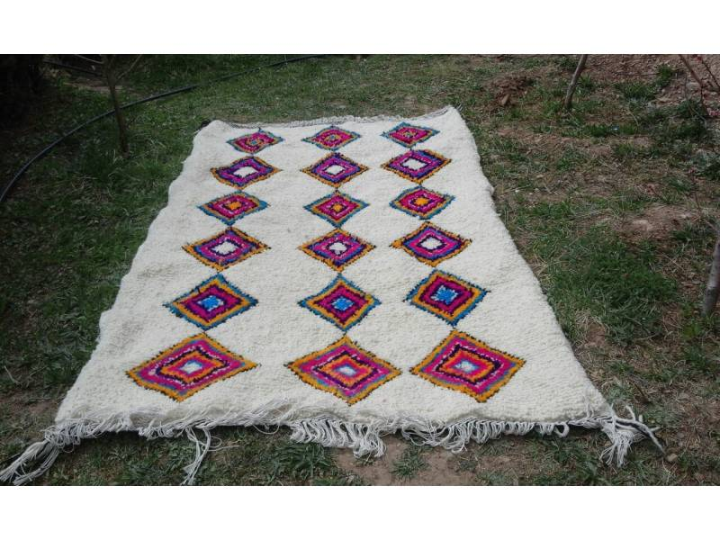 Colored Azilal Rug