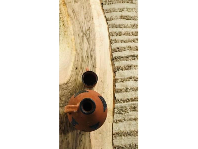 Brown, Black Walnut Wood Wood Table