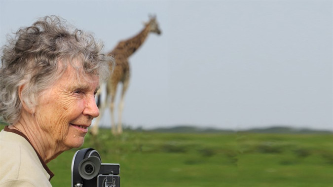 Still from Doc Soup: The Woman Who Loves Giraffes