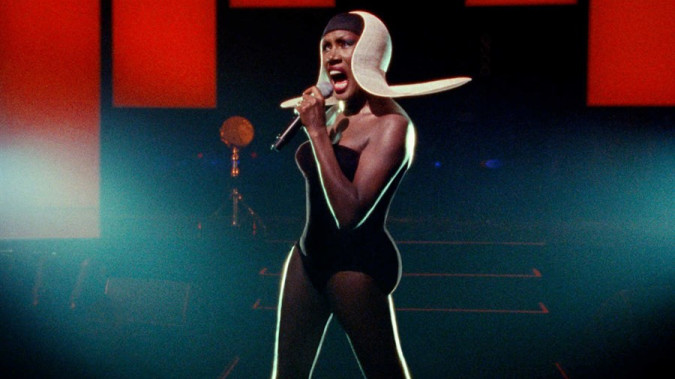 Still from Grace Jones: Bloodlight and Bami