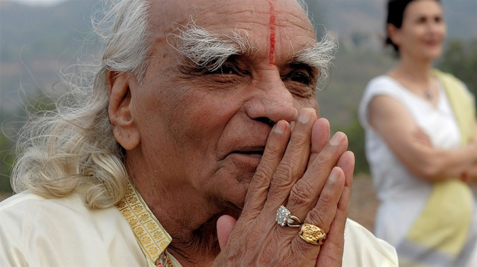 Still from Iyengar: The Man, Yoga, and the Student's Journey