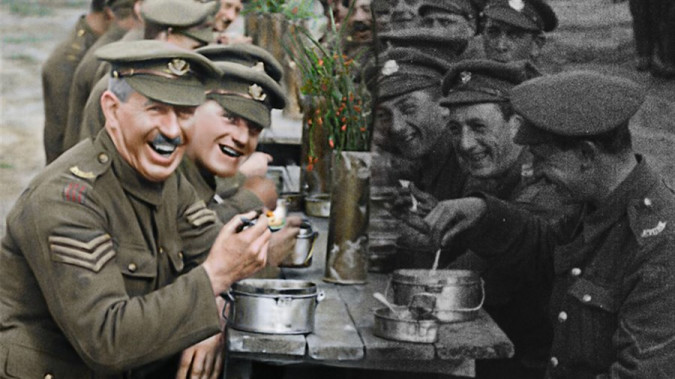 Still from They Shall Not Grow Old