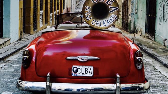 Still from A Tuba To Cuba