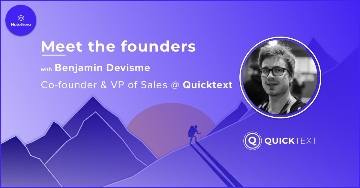 Le meilleur ami de votre équipe commerciale, un chatbot qui convertit, voici Benjamin Devisme