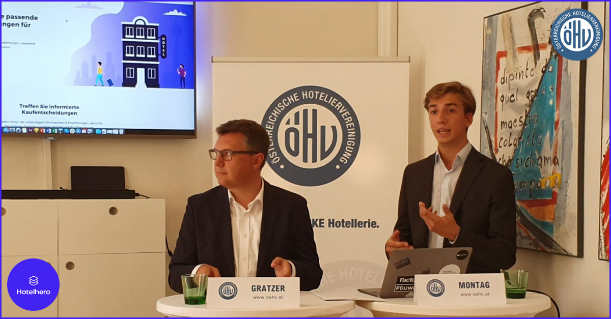 The Austrian Hotelier Association (ÖHV) partners with Hotelhero to support hotels in the digitisation process.