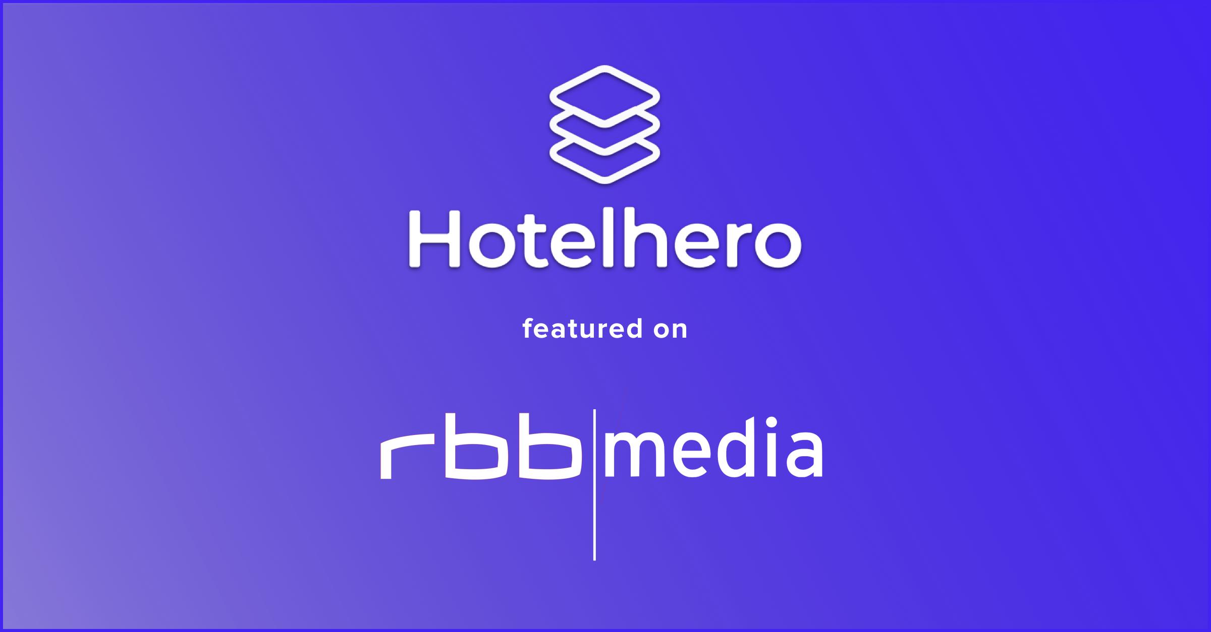 Hotelhero featured on RBB!