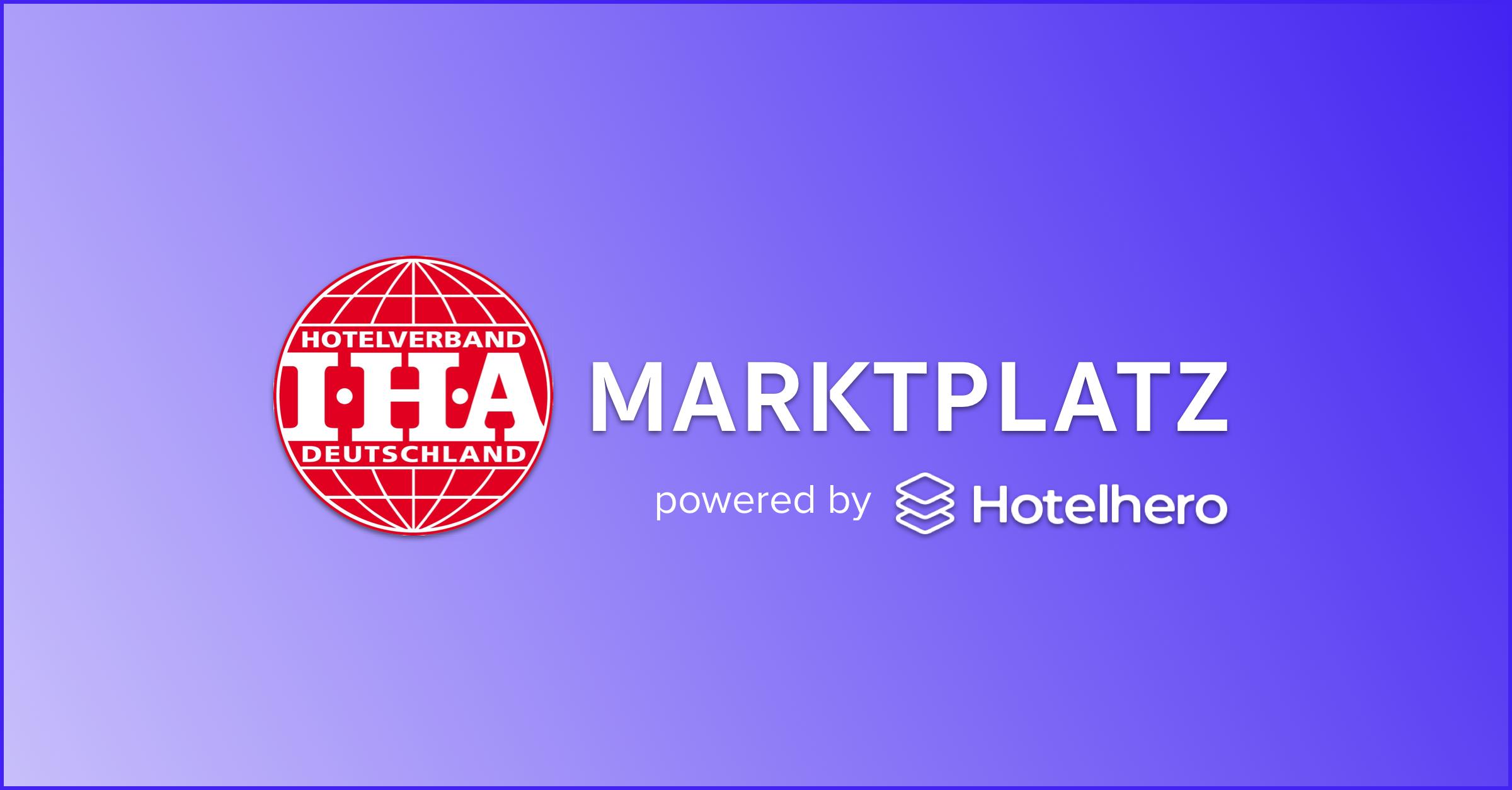 L'association des hôtels allemands, IHA, lance un partenariat stratégique avec Hotelhero pour offrir une plateforme de recherche et d'achat logiciels dédié à ses membres