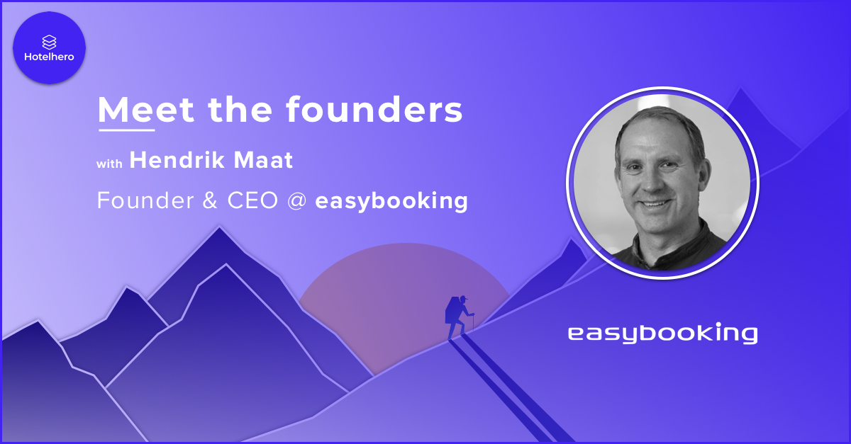 Simplifying the daily tasks of private hosts & small hotel operators, meet Hendrik Maat