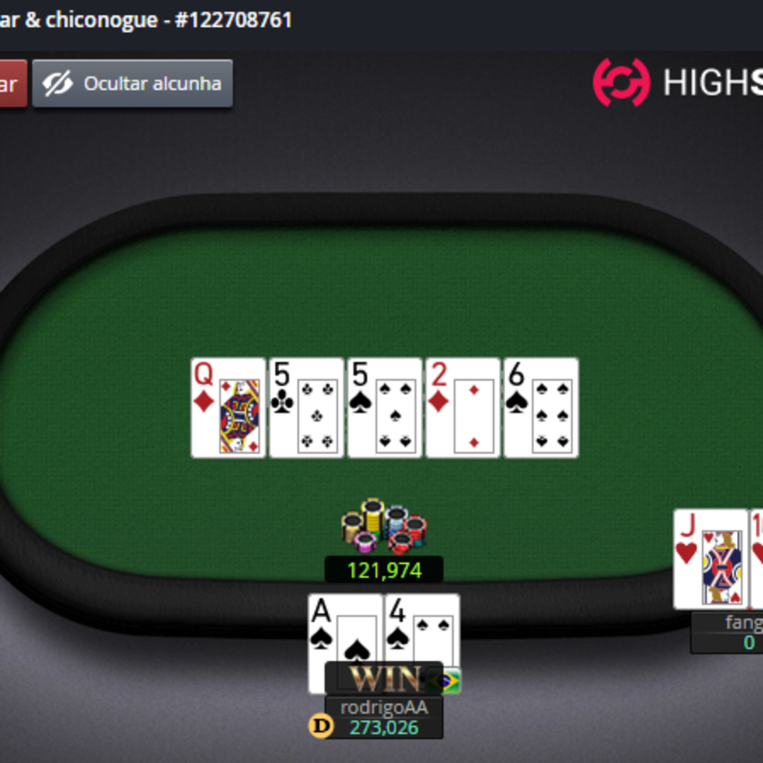 Vivalviar no HighStakes