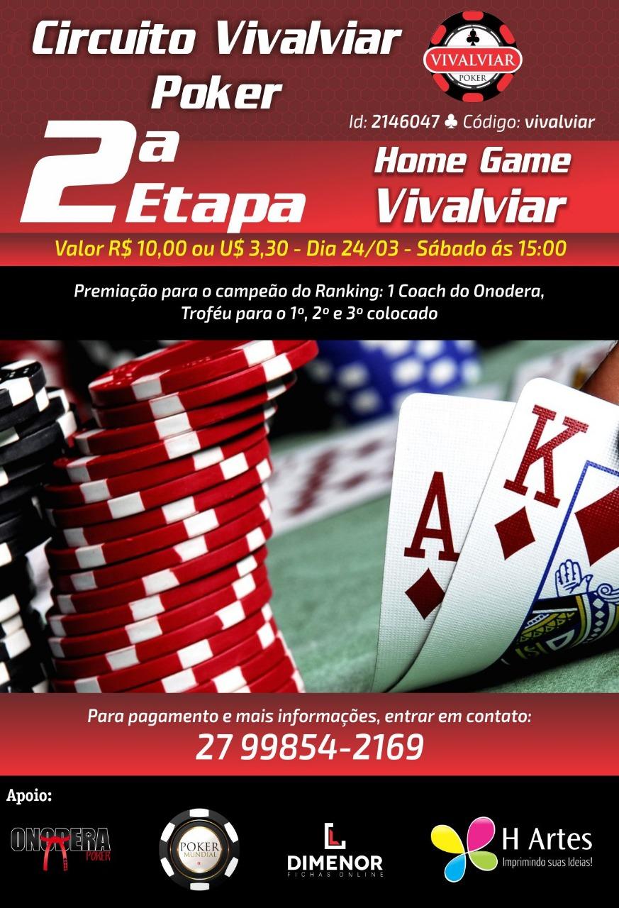 Circuito Vivalviar Poker 2a Etapa