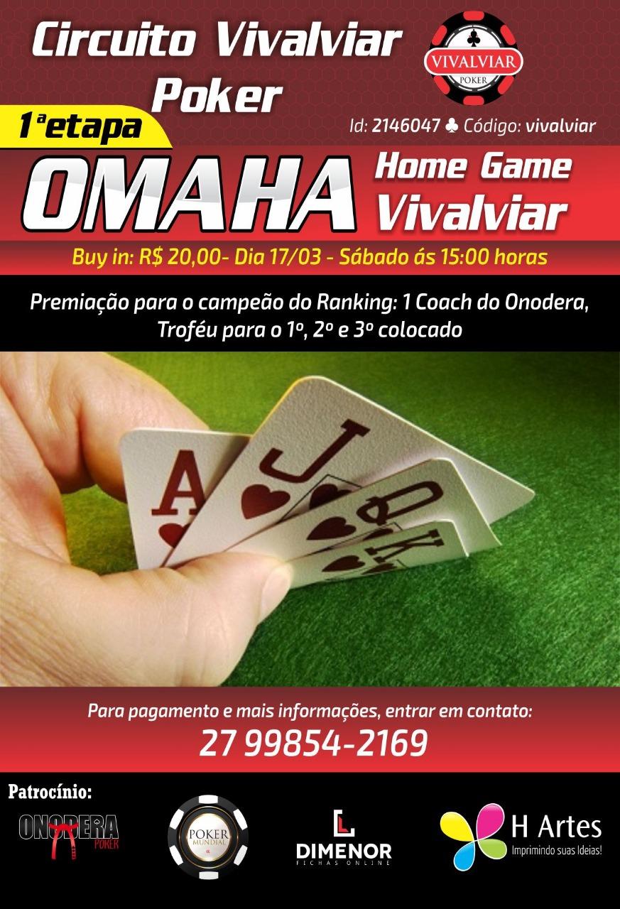 Circuito Vivalviar Poker 1a Etapa (OMAHA)