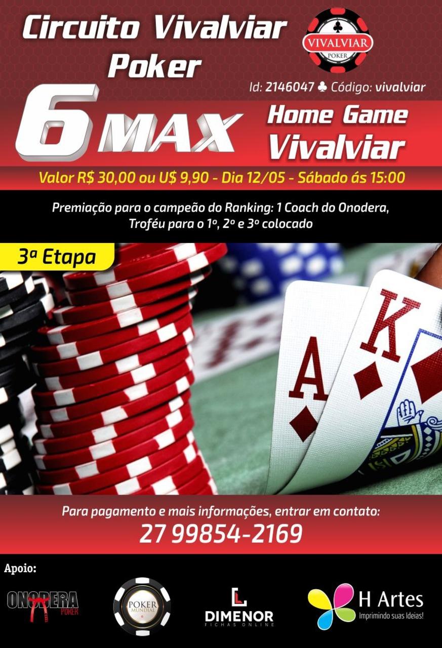 Circuito 6-max  3 Etapa