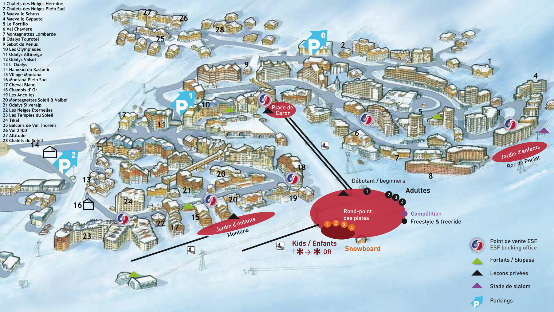 Village map