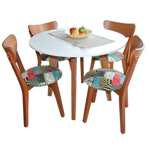 Mesa y sillas Retro