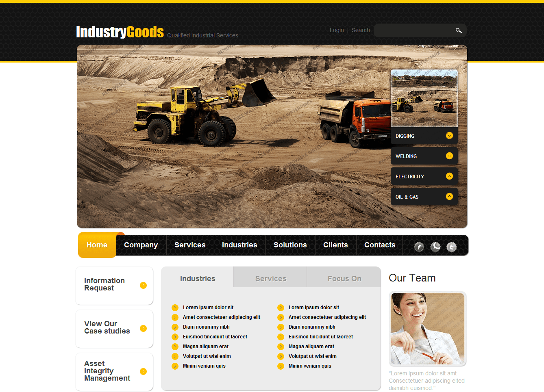 طراحی سایت جی اس پی