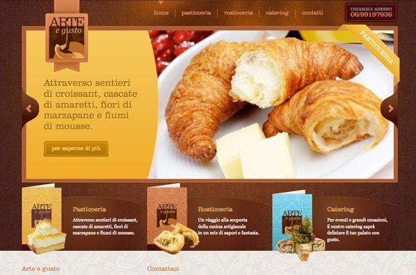 طراحی سایت آشپزی