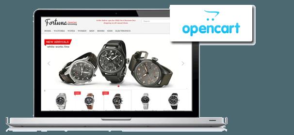 طراحی سایت اوپن کارت opencart