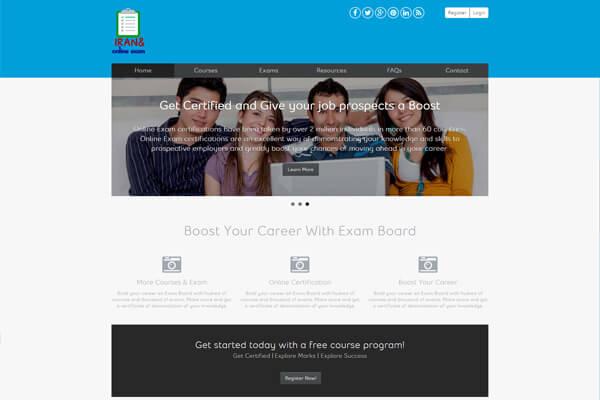 طراحی سایت کلینیک ایرانمهر