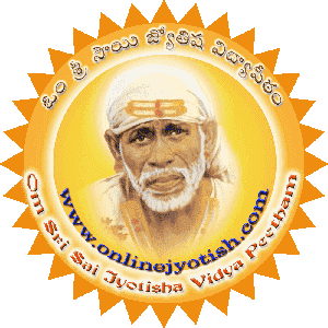 Om Sri Sai Jyotisha Vidyapeetham, Vedic Astrology and Numerology in Telugu and english