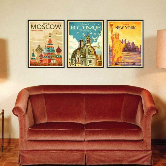 Inspirasi desain: Sentuhan Retro pada Ruangan Berdesain Minimalis | SARAÈ Blog