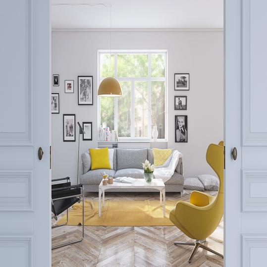 The Strength of White Nuance's Interior | SARAÈ Blog
