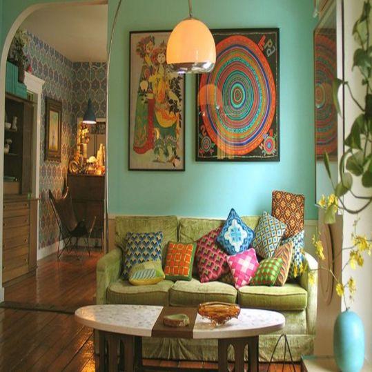 Gaya Bohemian yang Artistik untuk Inspirasi Desain Hunian | SARAÈ Blog