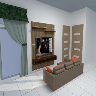 Television Backdrop B | SARAÈ