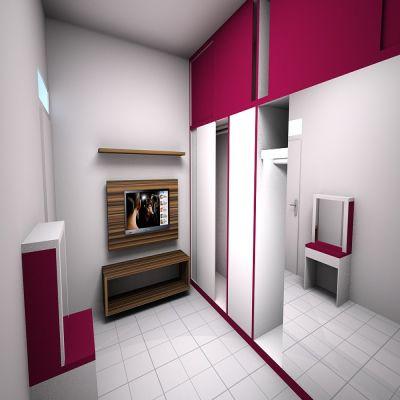 Purpelish White Bedroom Set | SARAÈ