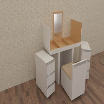 White Dressing Table | SARAÈ