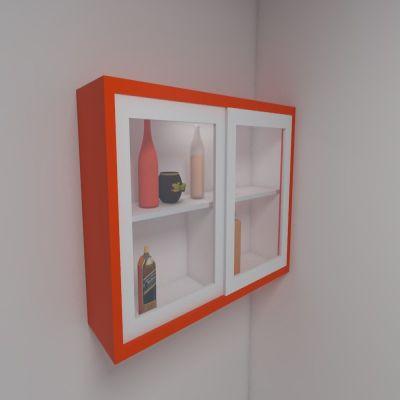 Orange Floating Shelf | SARAÈ