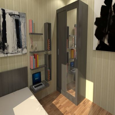 Shelves Set for Bedroom | SARAÈ