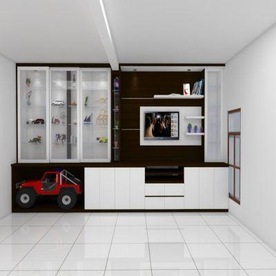 White Television Buffet | SARAÈ